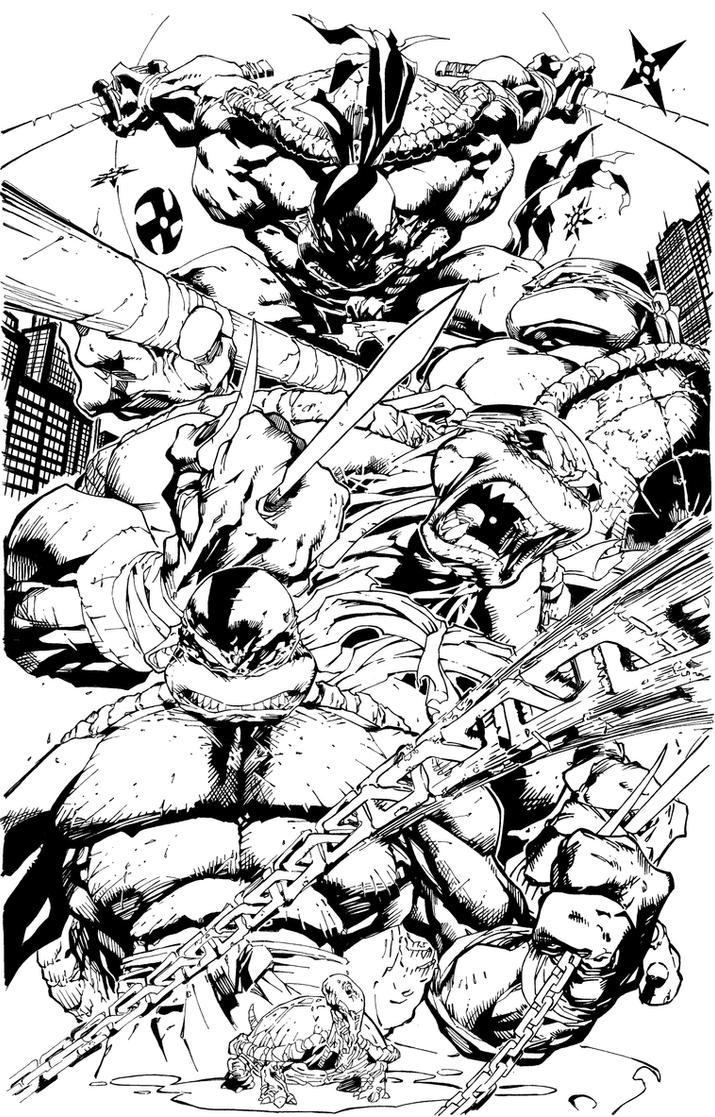 Teenage Mutant Ninja Turtles by assassin-10