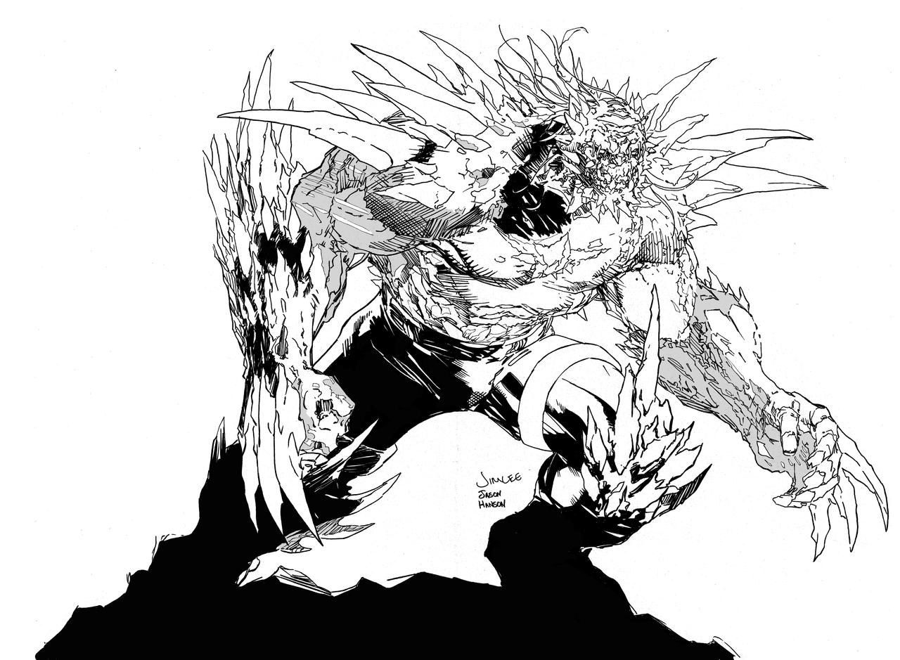 doomsday coloring pages | doomsday by assassin-10 on DeviantArt