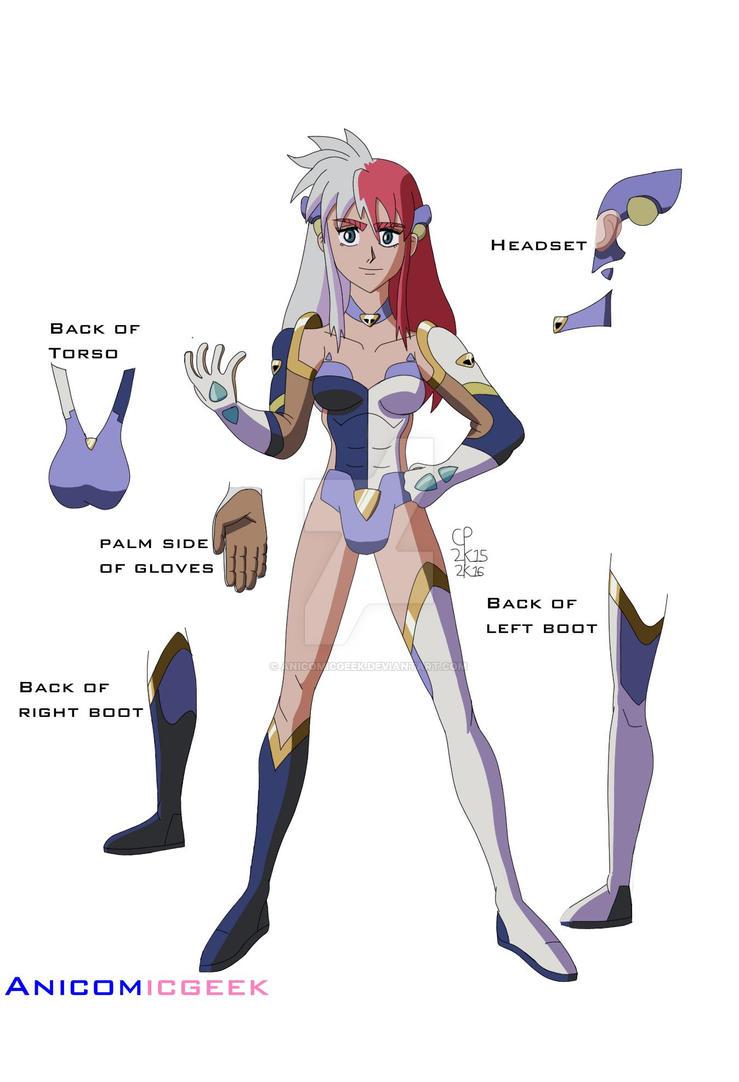 Birdy Fusion Design by Anicomicgeek