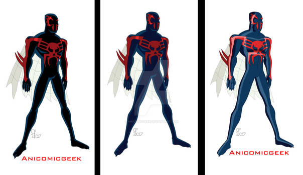 Spider-Man 2099 Comparsion