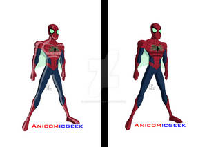 All-New All-Different Spider-Man Comparsion