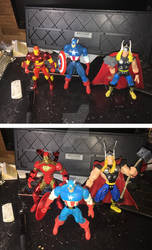 Avengers Trinity Face-Off
