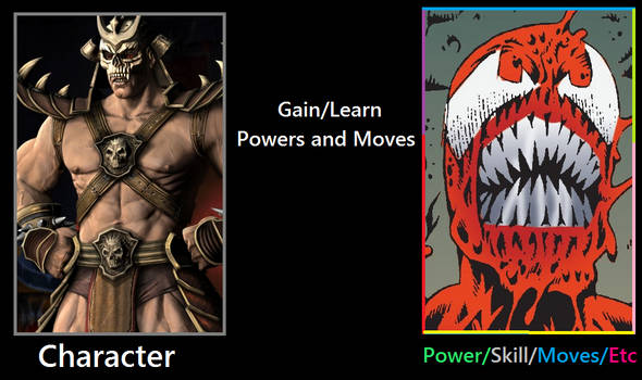 What If Shao Kahn was bonded to Carnage?