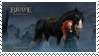 Merida and Angus by BraveMoonGirl