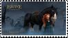 Merida and Angus by BraveMoonGirl