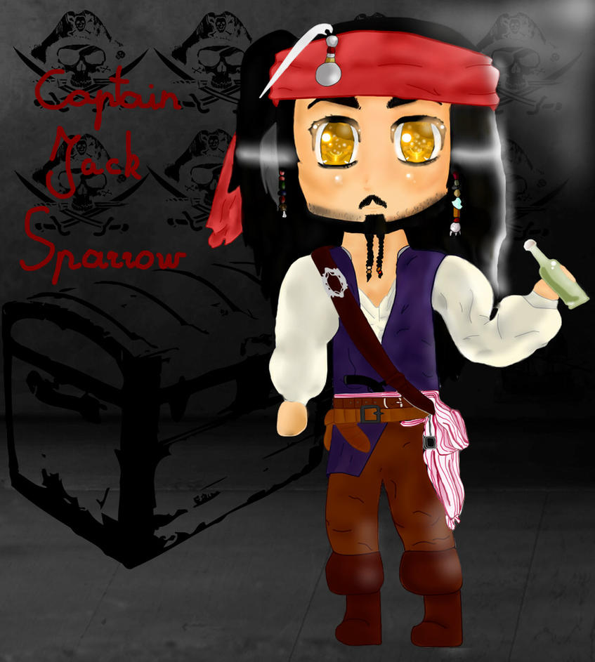 Jack Sparrow V2 by BraveMoonGirl