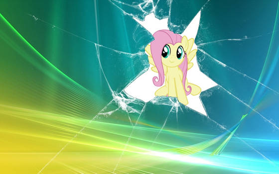 Fluttershy Has Broken The Fourth Wall