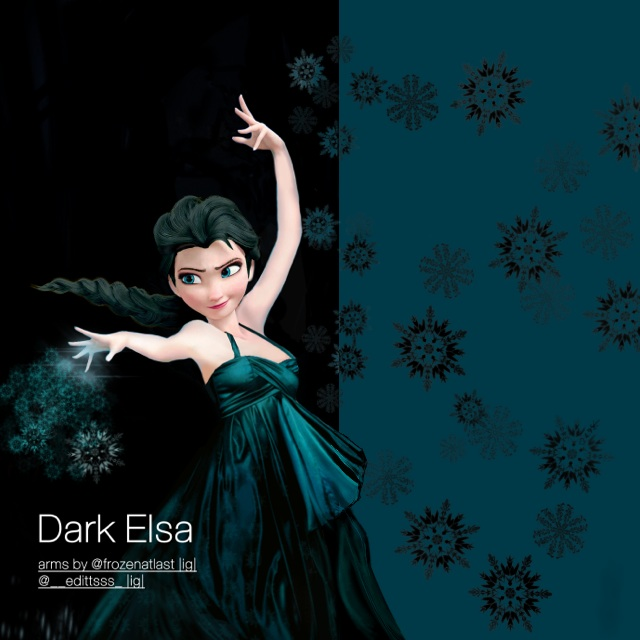 Dark Elsa by Editttsss