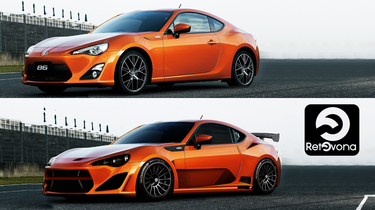 toyota gt86 virtual tuning by sharkurban on deviantart. Black Bedroom Furniture Sets. Home Design Ideas
