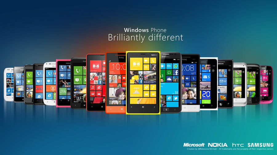 Windows Phone devices by sharkurban
