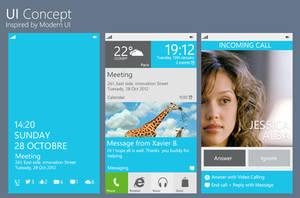 Windows Phone UI Concept