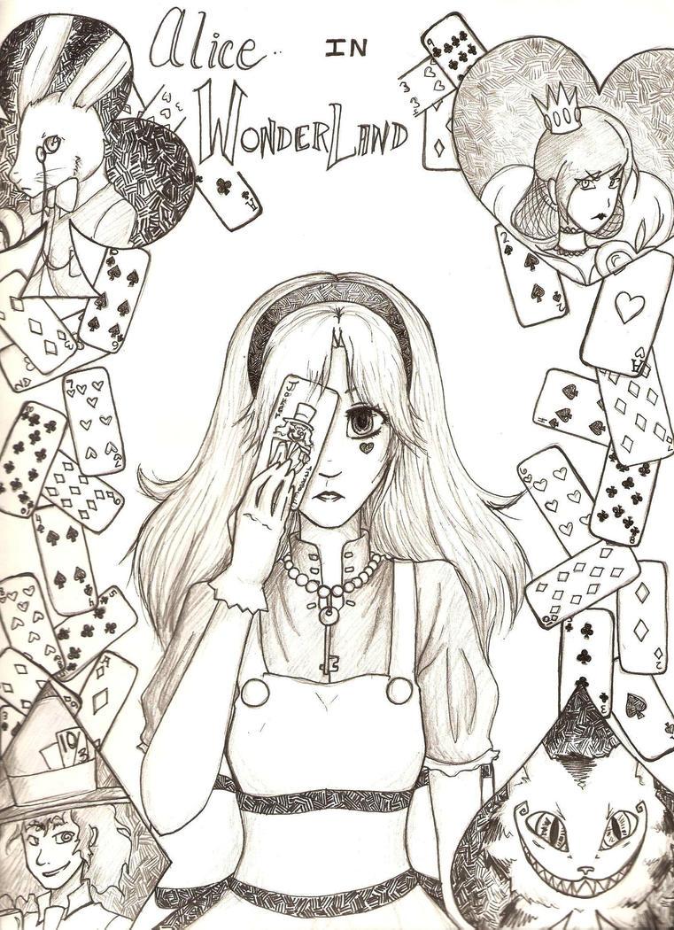 Alice in Wonderland by MESS-Anime-Artist on DeviantArt