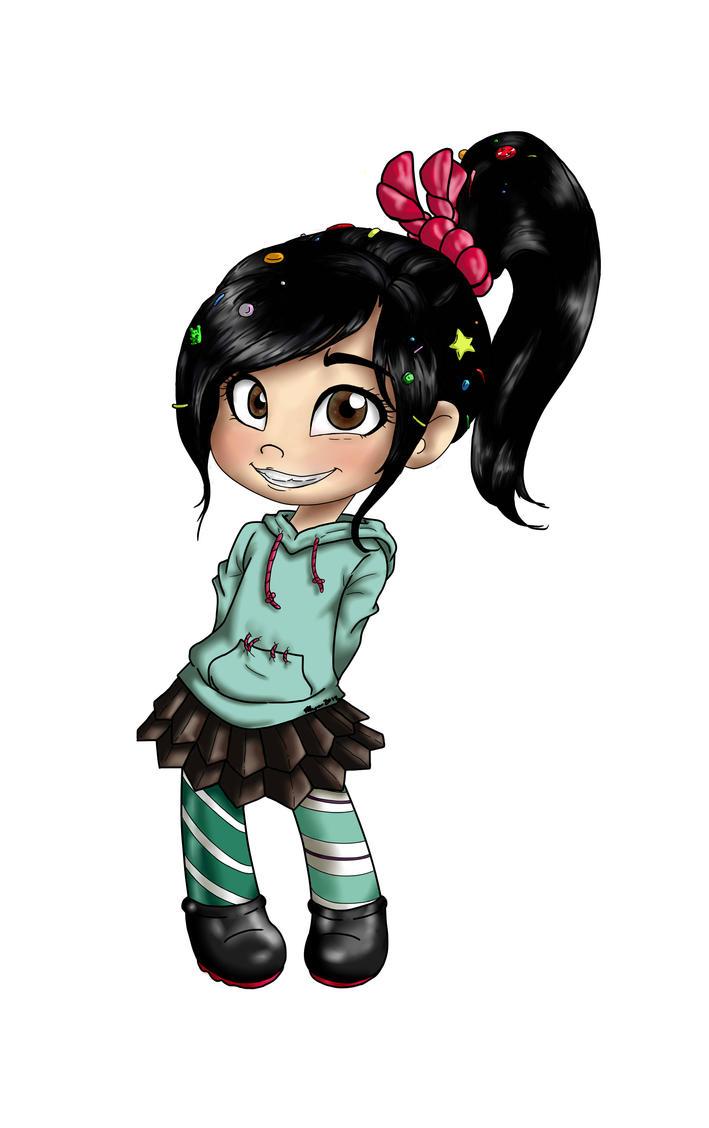 Vanellope Von Schweetz by MESS-Anime-Artist