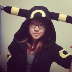 Umbreon Hoodie by MESS-Anime-Artist
