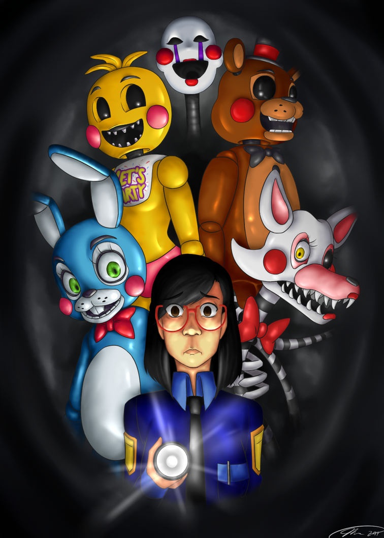 Don t look behind you five nights at freddy s 2 by mess anime artist