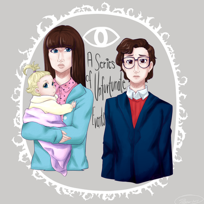 Anime On Netflix 2018: A Series Of Unfortunate Events-2017 Netflix Series By MESS