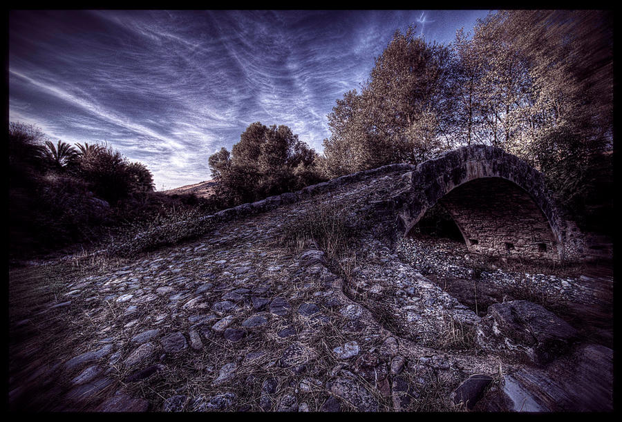 Skarfou Bridge by bluesense