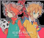 Endou y Tenma by ElisaEditions