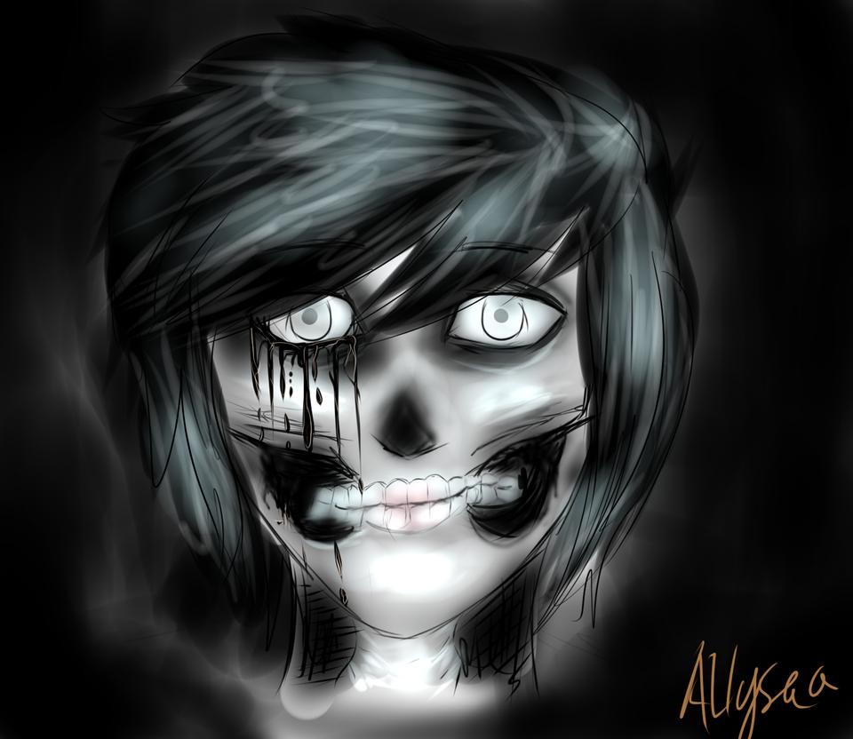 (WIP Maybe?) Skull Girl by Allysaa