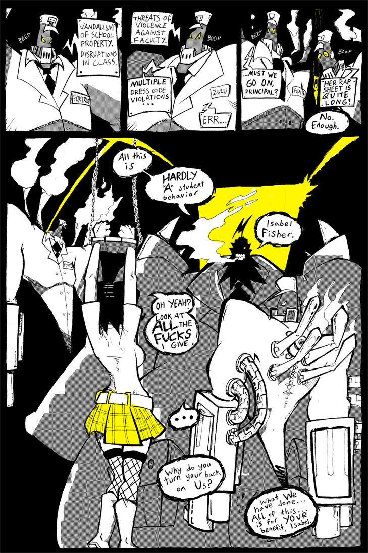Blackwidow Apocalypse v.2-3 by ReluctantZombie