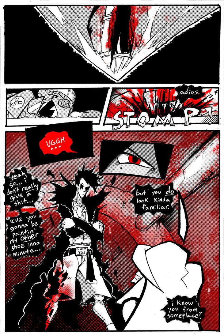 Blackwidow Apocalypse v.11-14 by ReluctantZombie