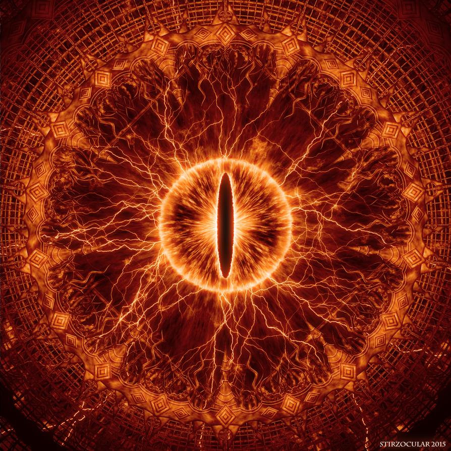 Eye of sauron by stirzocular on deviantart - Eye drawing wallpaper ...