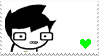 John Egbert Stamp by BlueberryRhymes