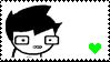 John Egbert Stamp by BlueberryRhymes