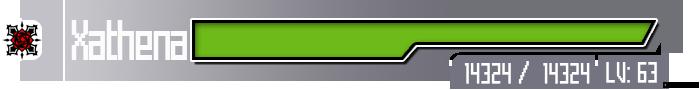 Sword Art Online HP bar by dalejamaica0216