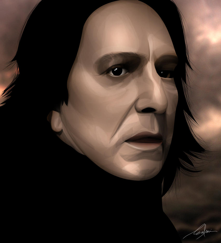 Severus Snape by remle012