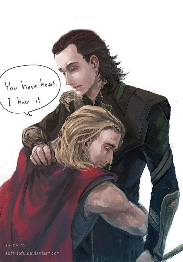 Thor Loki by EM-MIKA