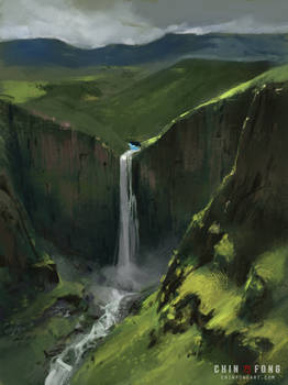 Plein air mountains