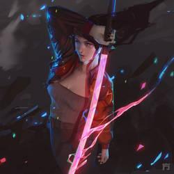 sword girl IG1