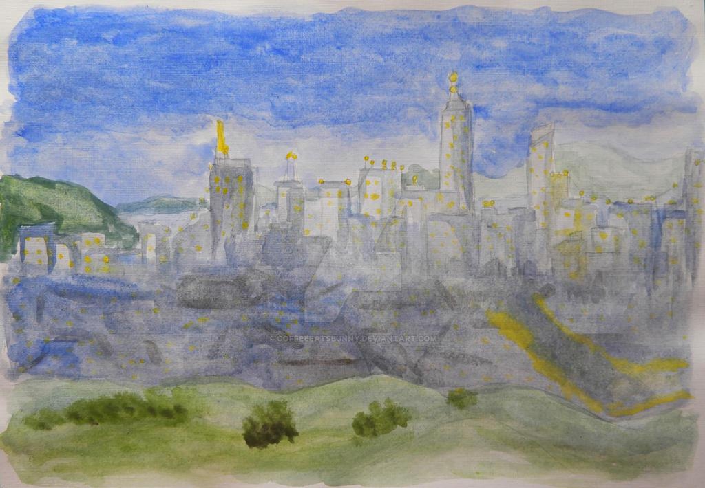 CityScape by CoffeeEatsBunny
