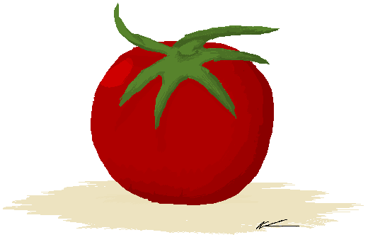 Tomato by ushimooshroom