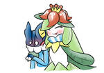 Frogadier X Lilligant (Storm and Royal)