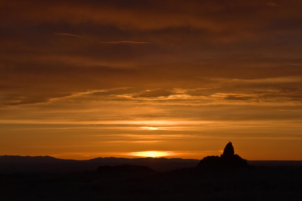 Precipice of Light by BWilliamWest