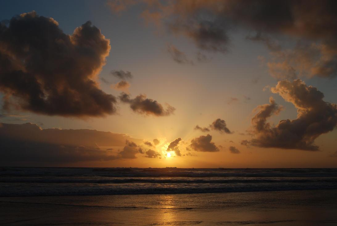 West Coast Sunset by BWilliamWest