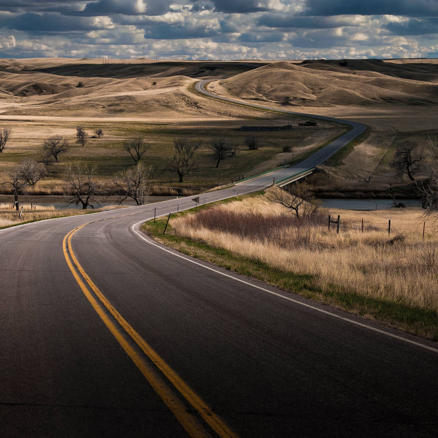 Unknown Road by BWilliamWest