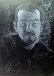 self-portraits with smoke