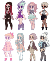 Adoptable batch 2 Closed by Drovie