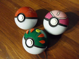 Pokeballs by TheGrillosLab