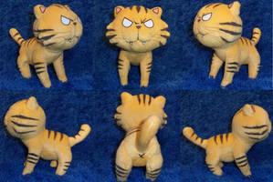 Taiga Tiger Toradora Plush by TheGrillosLab