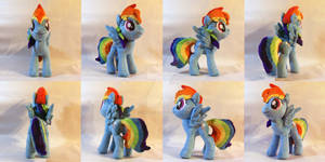 Rainbow Dash Plush 2