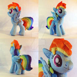 Rainbow Dash Plush 3rd version