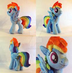 Rainbow Dash Plush 3rd version