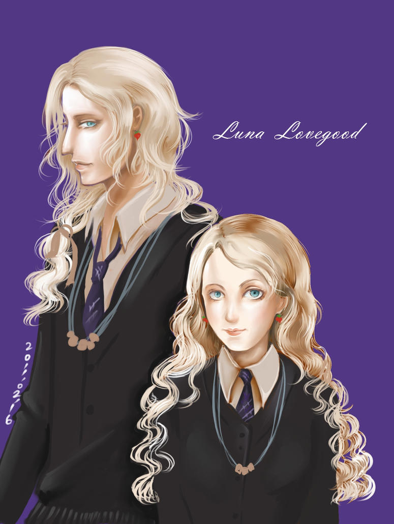 Luna Lovegood by chiyonosu on DeviantArt