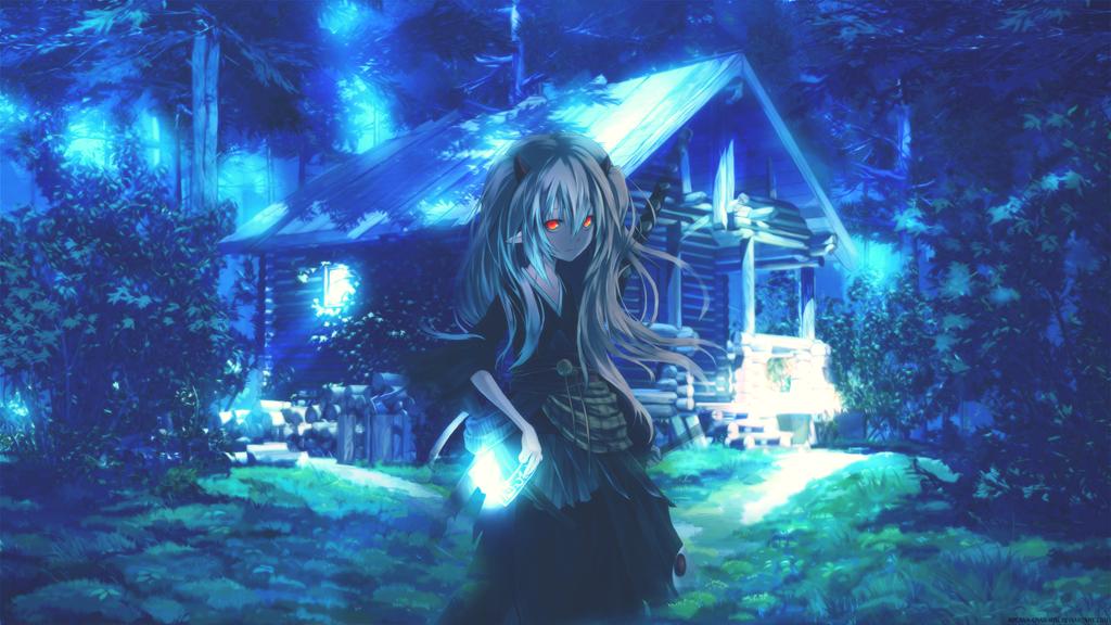 ghost girl wallpaper hd by arcanachanhth on deviantart