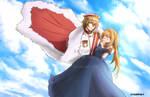 FANART: Ikemen Revolution Lancelot Kingsley by aoyumeart