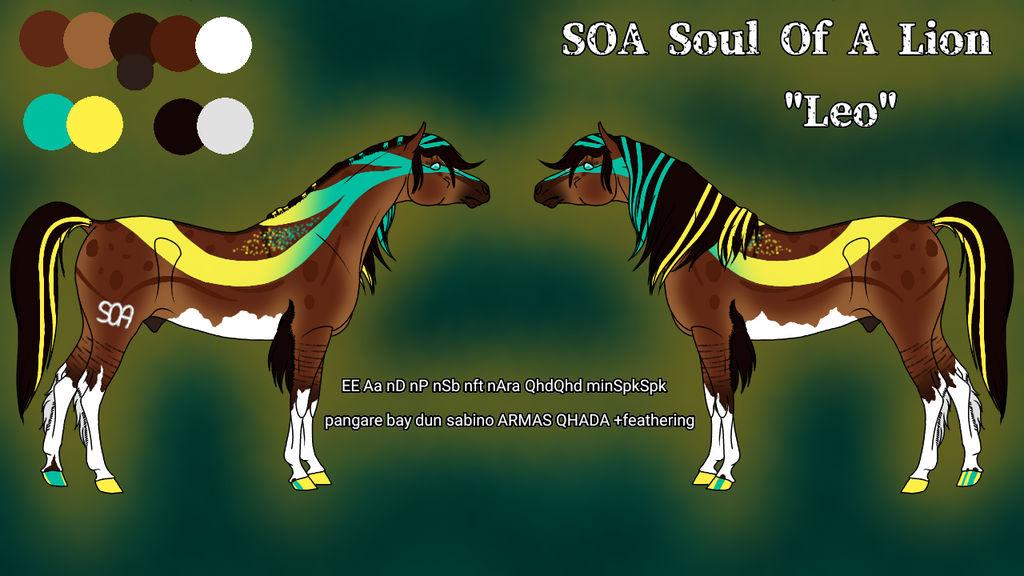 N5014 - SOA Soul Of A Lion AKA Leo